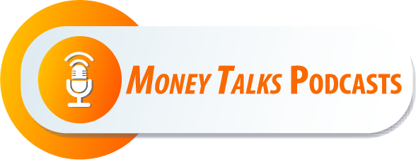 Money Talks podcast button to use on your website