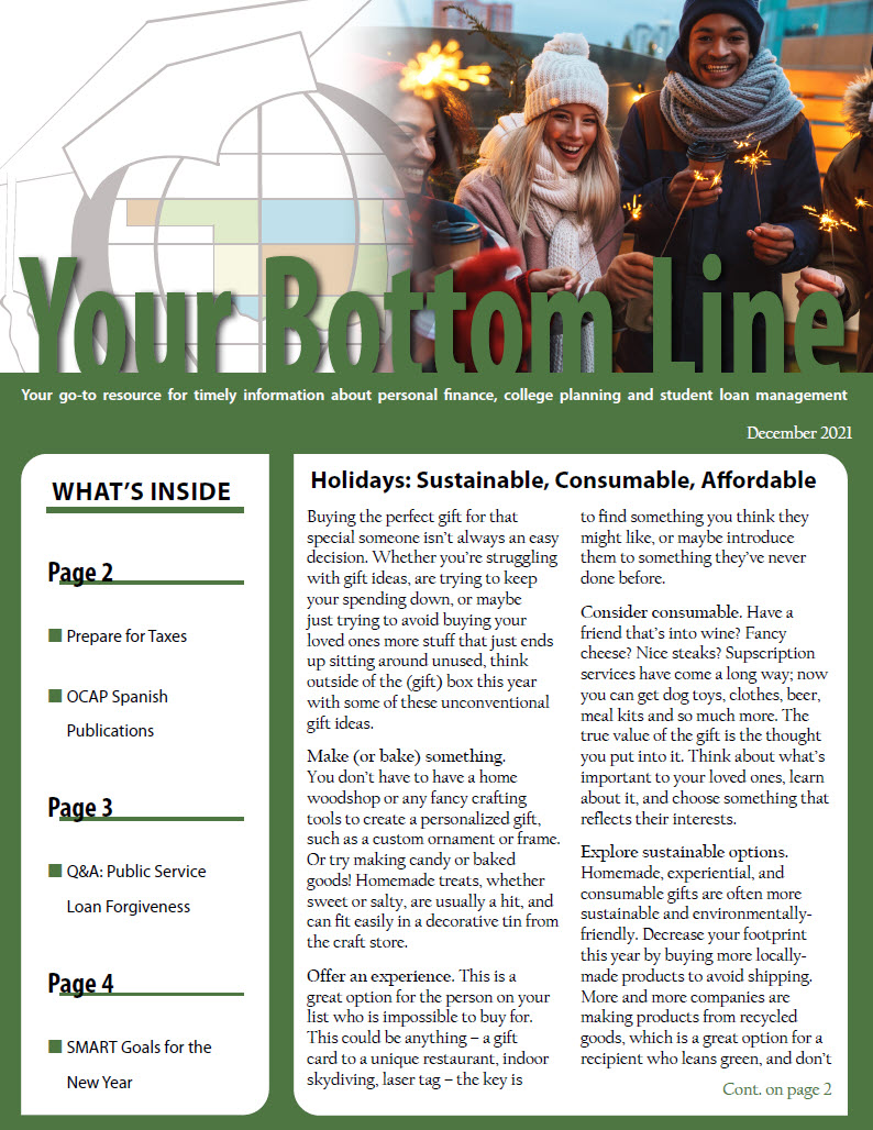 Your Bottom Line Newsletter